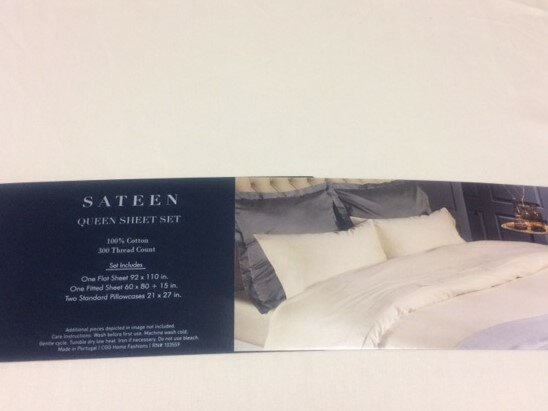 Solid 4 Piece 300 Thread Count 100% Cotton Sheet Set by Belle Epoque